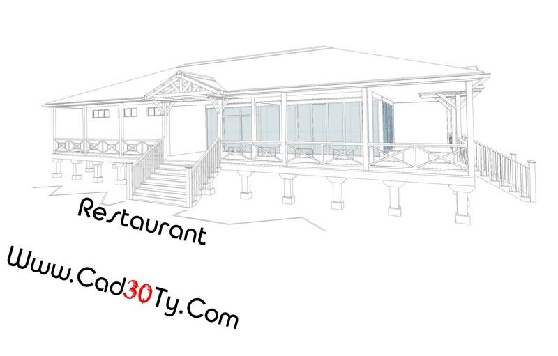 پلانهای کامل یک رستوران