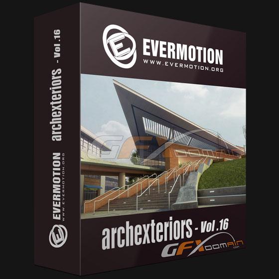 دانلود مدلهای آماده نماهای خارجی | Evermotion – Archexteriors Vol.16