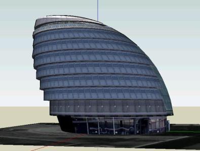پروژه سه بعدی سالن شهر –  ۳D City hall