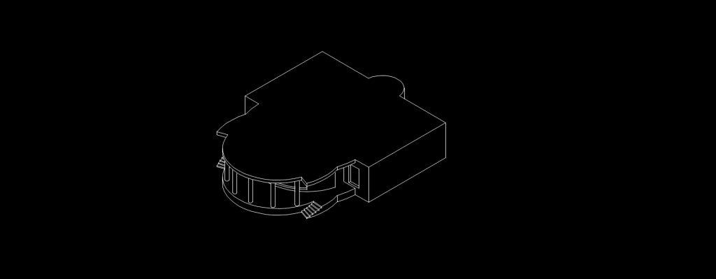 خروجی پرسپکتیو از فایل سه بعدی