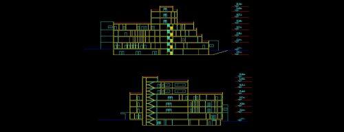 پروژه کامل بیمارستان با سه بعدی