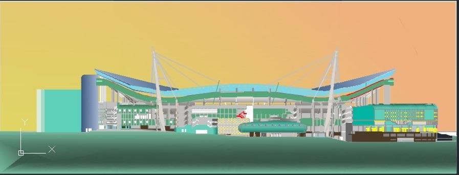 ۲ پروژه کامل ورزشگاه