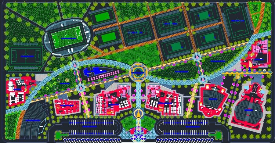 دانلود پروژه مرکز توریستی تفریحی فرهنگی